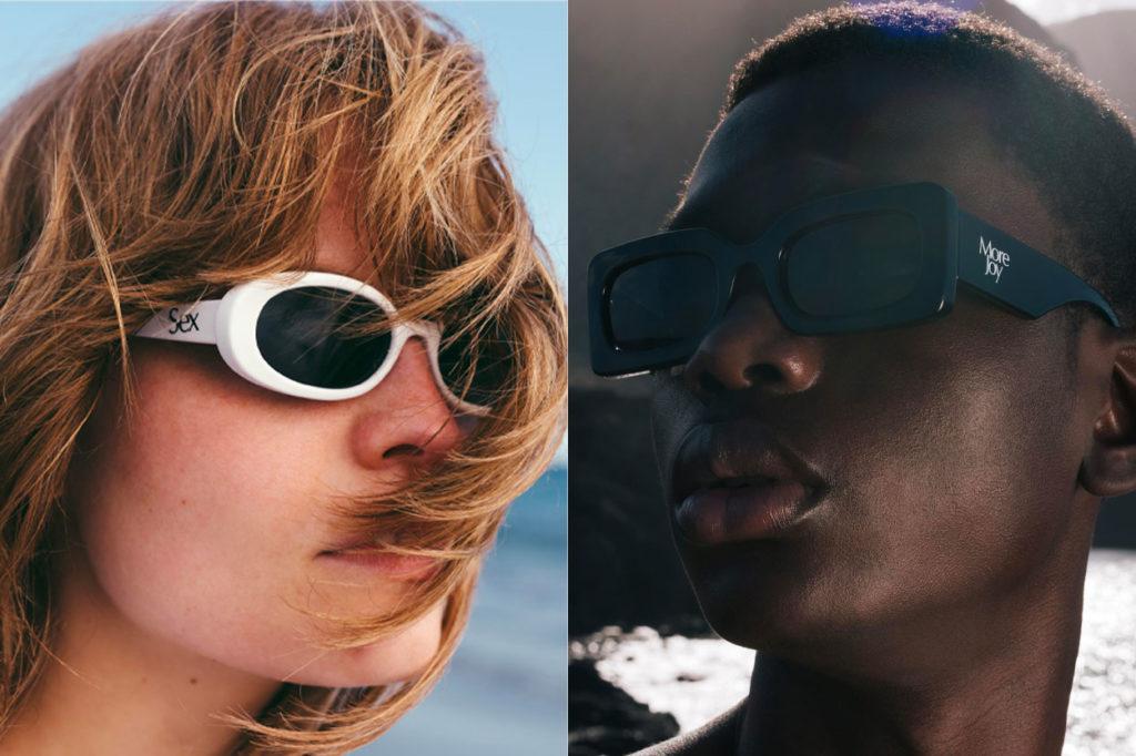 Collection de lunettes de soleil en édition limitée Le Specs x More Joy by Christopher Kane