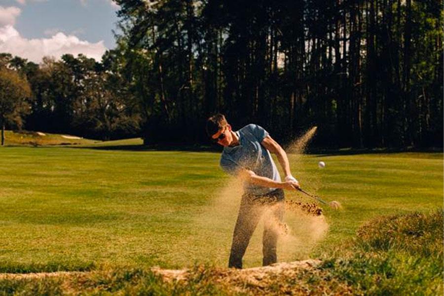 Mr P. lance une collection Golf