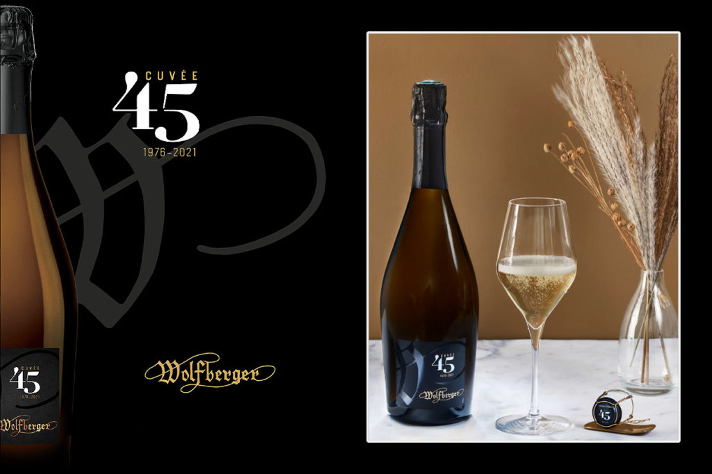 Wolfberger Crémant d'Alsace Cuvée 45