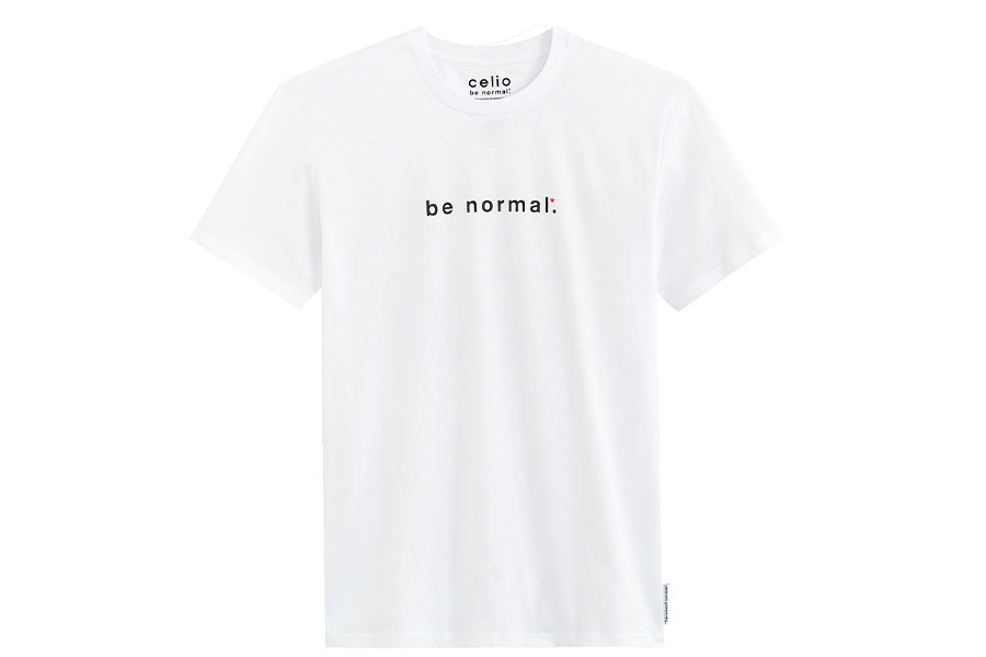 """Collection capsule celio* """"BE NORMAL"""""""