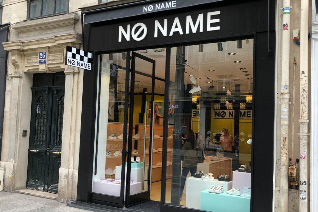 Seconde boutique parisienne NØ NAME