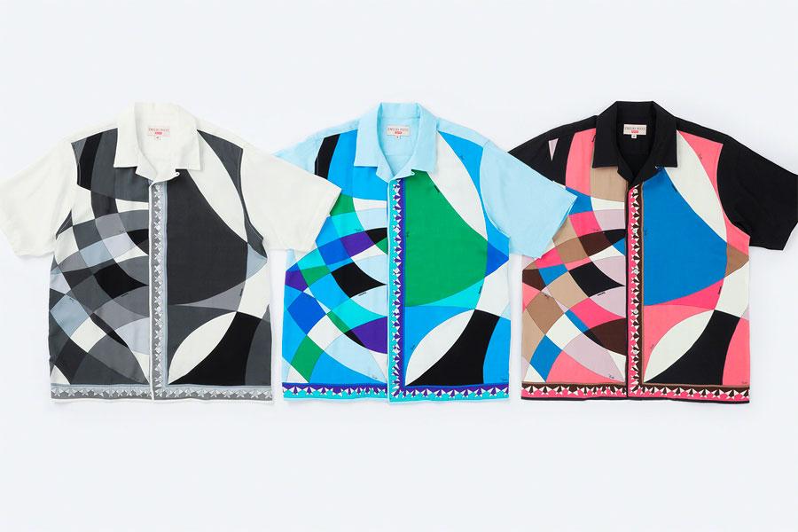 Collaboration Supreme x Emilio Pucci Printemps 2021