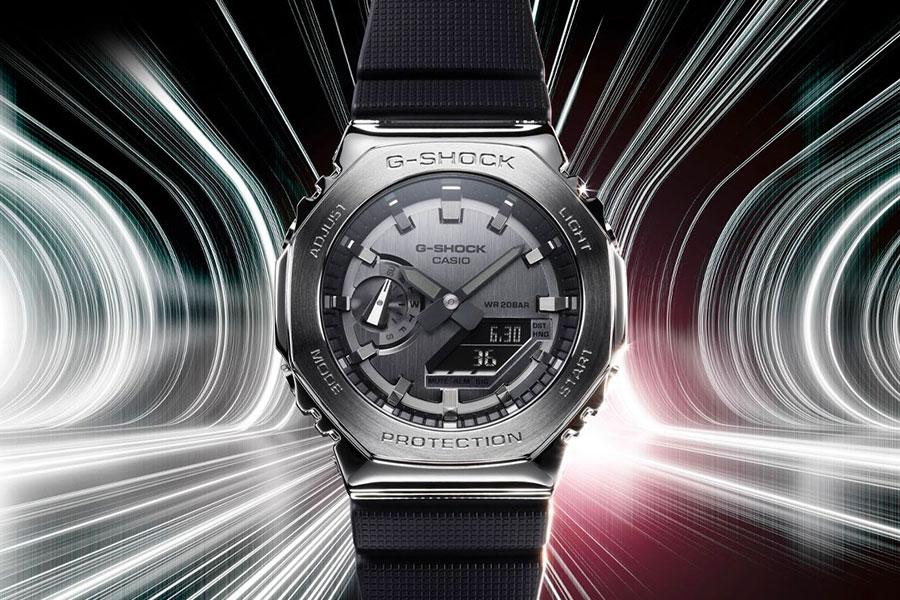 Montre G-SHOCK GA-2100 en métal