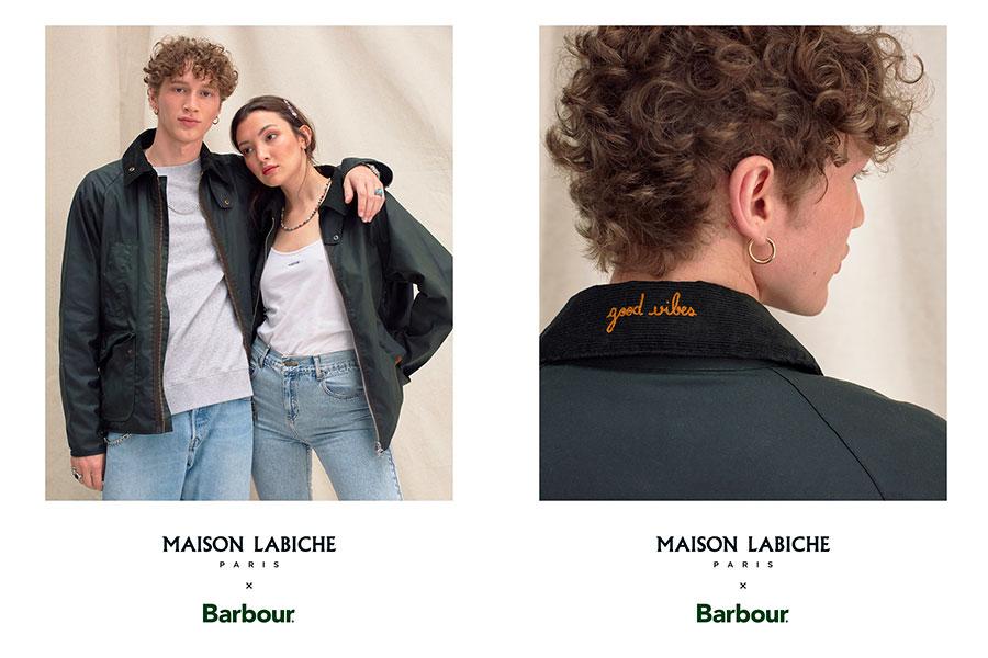 Barbour x Maison Labiche