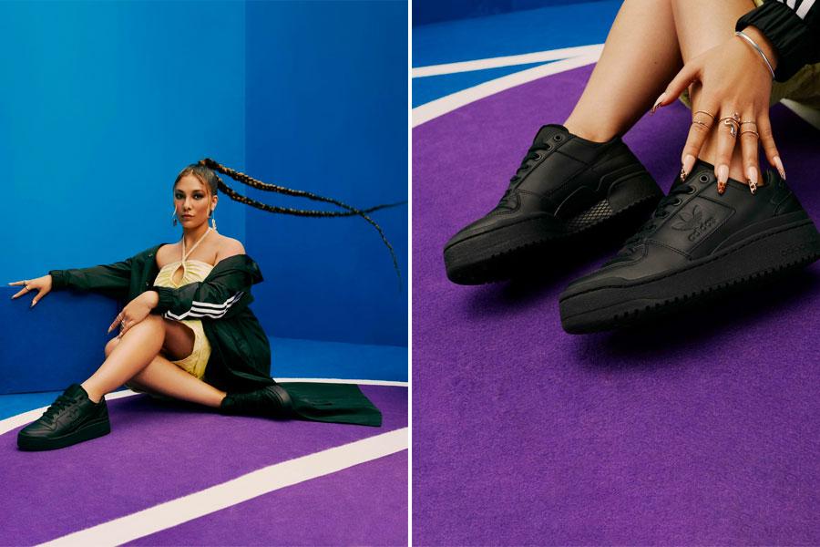 Campagne adidas Originals x Zalando OPEN FORUM