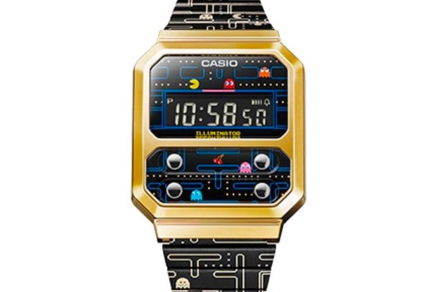 Montre Casio A100WEPC Pac-Man
