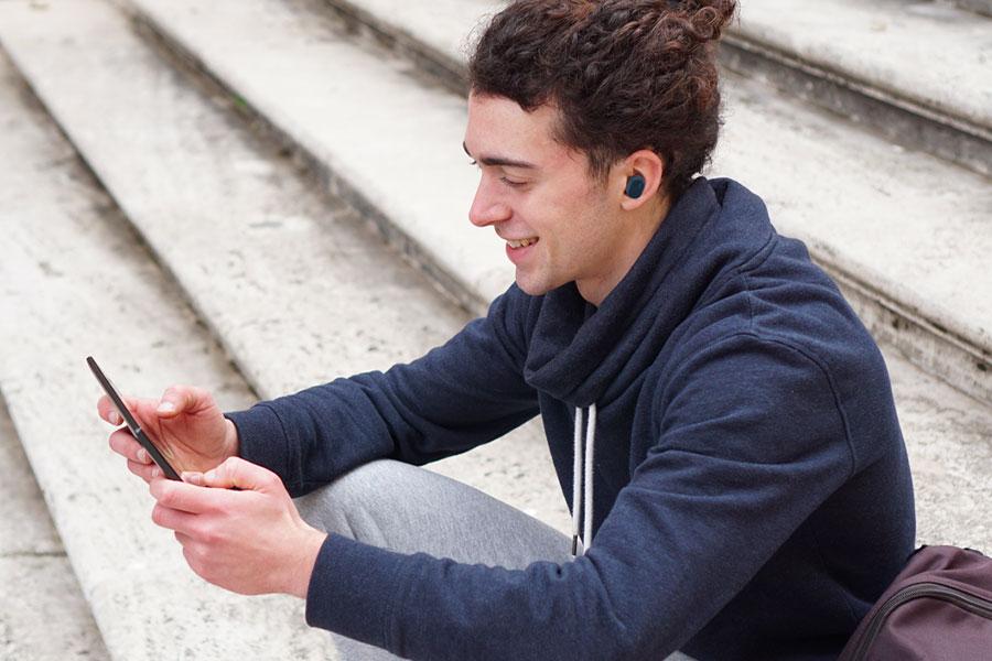 Ecouteurs true wireless JVC HA-A10T