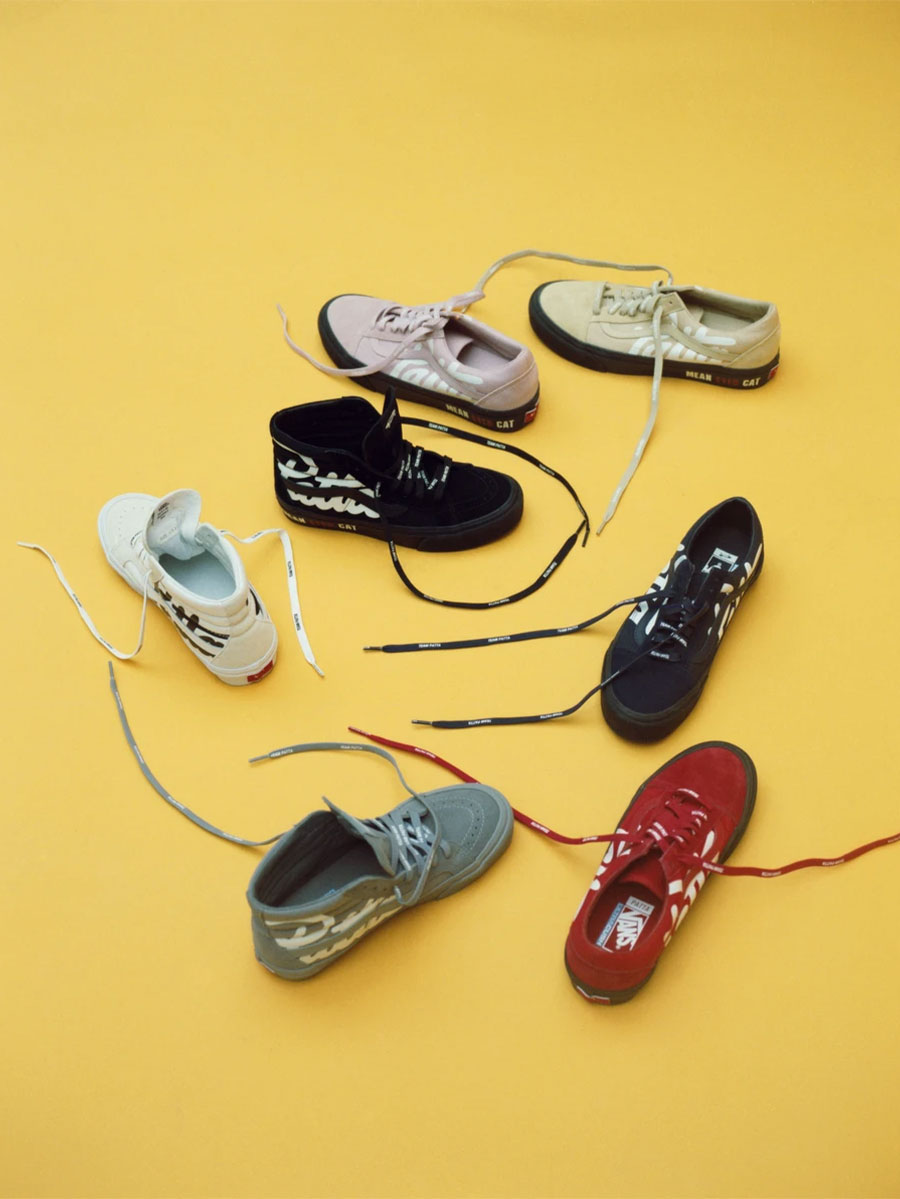 """Pack Patta x Vault by Vans """"Mean Eyed Cats"""""""