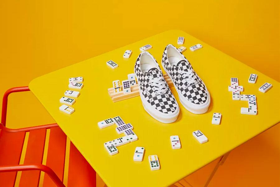 Vault by Vans Og Era Lx Canvas Checkboard Pack