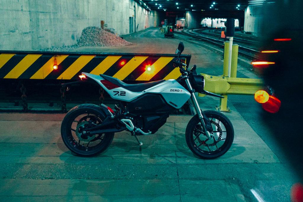 Zero Motorcycles présente la Zero FXE