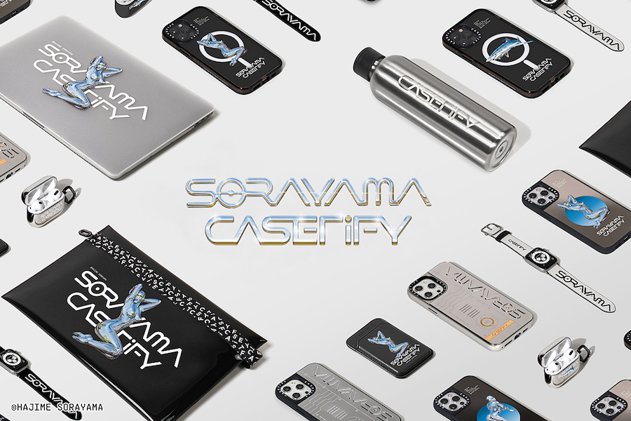 Collection CASETiFY x Sorayama