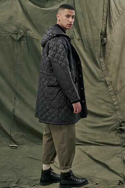 Engineered Garments x Barbour Automne/Hiver 2021
