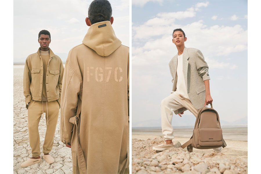 Campagne Fear Of God Automne/Hiver 2021