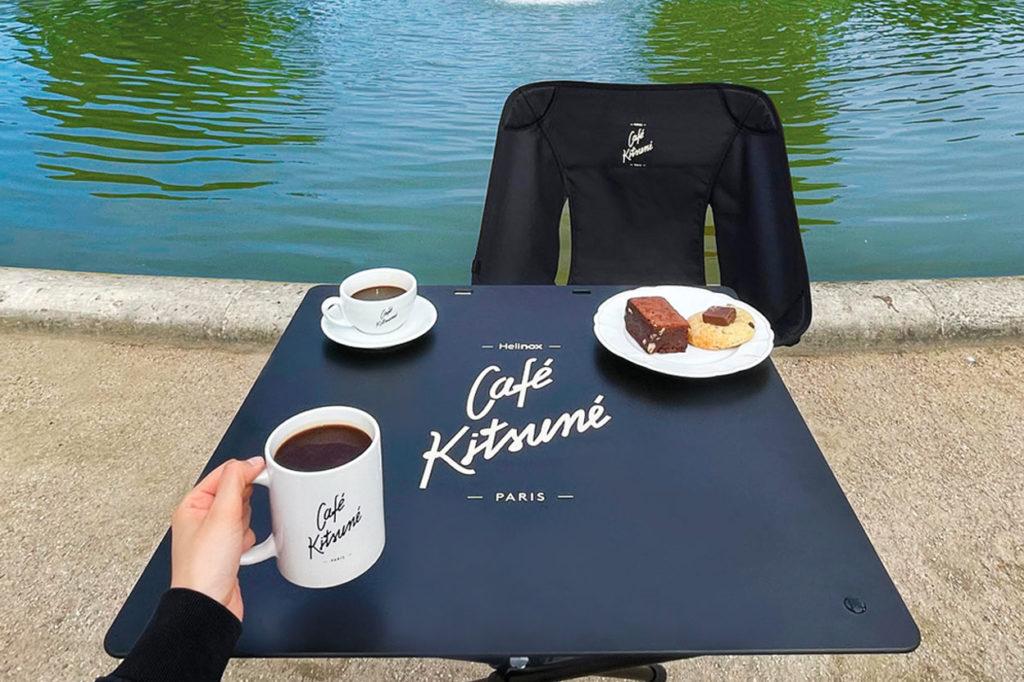 Café Kitsuné x Helinox