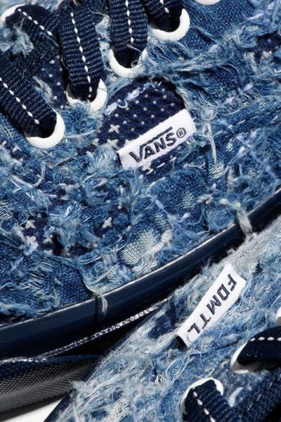 Vault by Vans x FDMTL Distressed Denim Pack