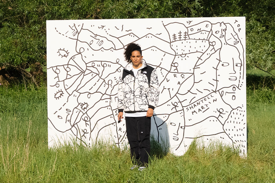 The North Face x Shantell Martin