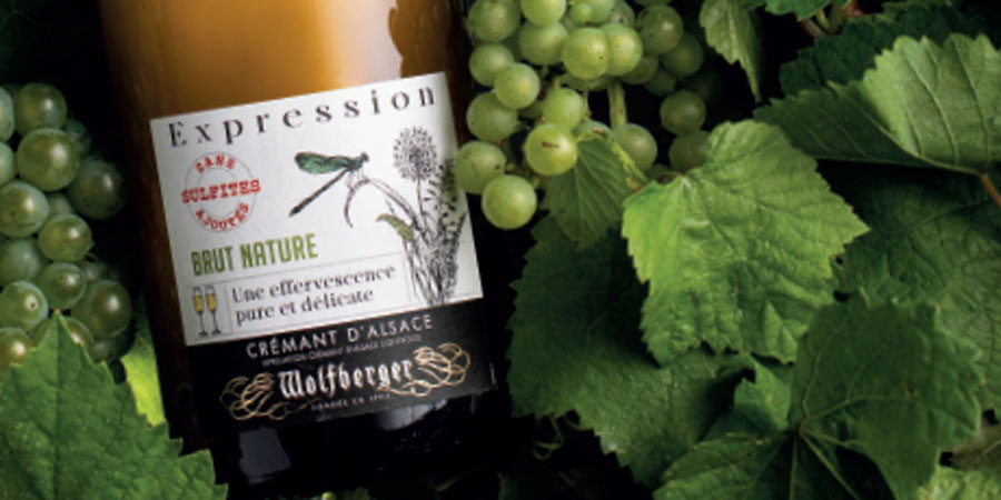 Wolfberger Crémant Expression Brut Nature