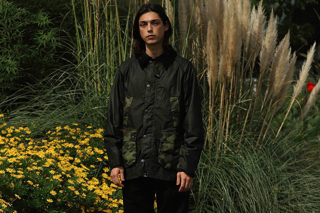 Collection A Bathing Ape x Barbour