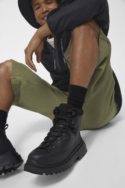 """Campagne chaussures Canada Goose """"Forces of Nature"""" Automne/Hiver 2021"""
