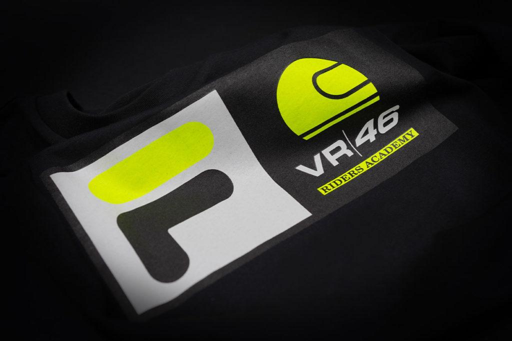 Collaboration FILA x VR46 Racing Academy