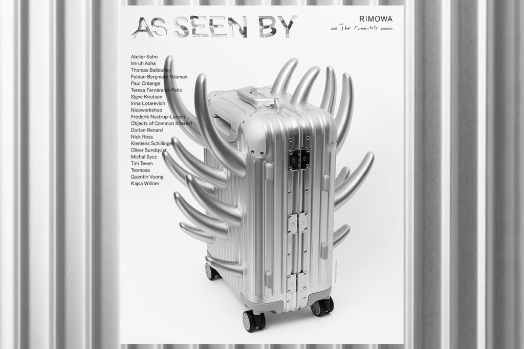 """Exposition : """"As Seen By"""" - RIMOWA avec The Community"""