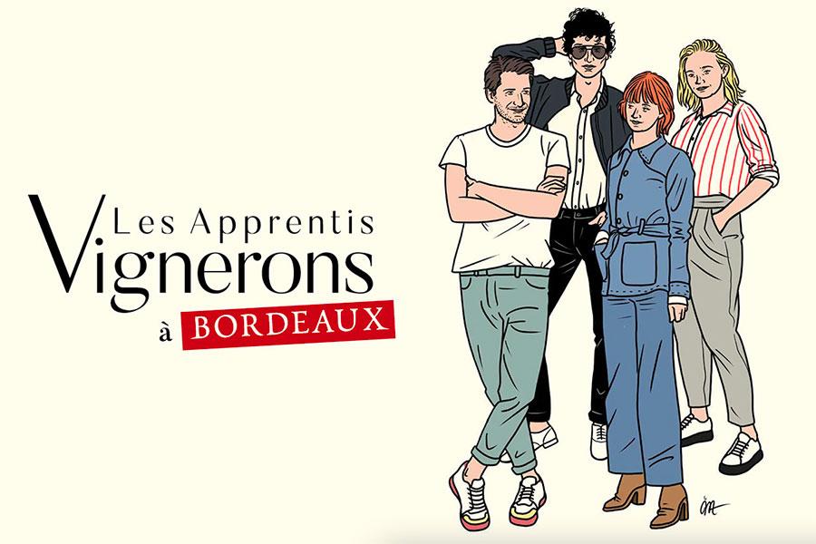 Les Apprentis Vignerons à Bordeaux cuvée 2020 et 2021
