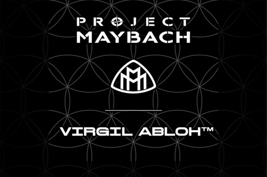 """Virgil Abloh x Mercedes """"Project MAYBACH"""""""