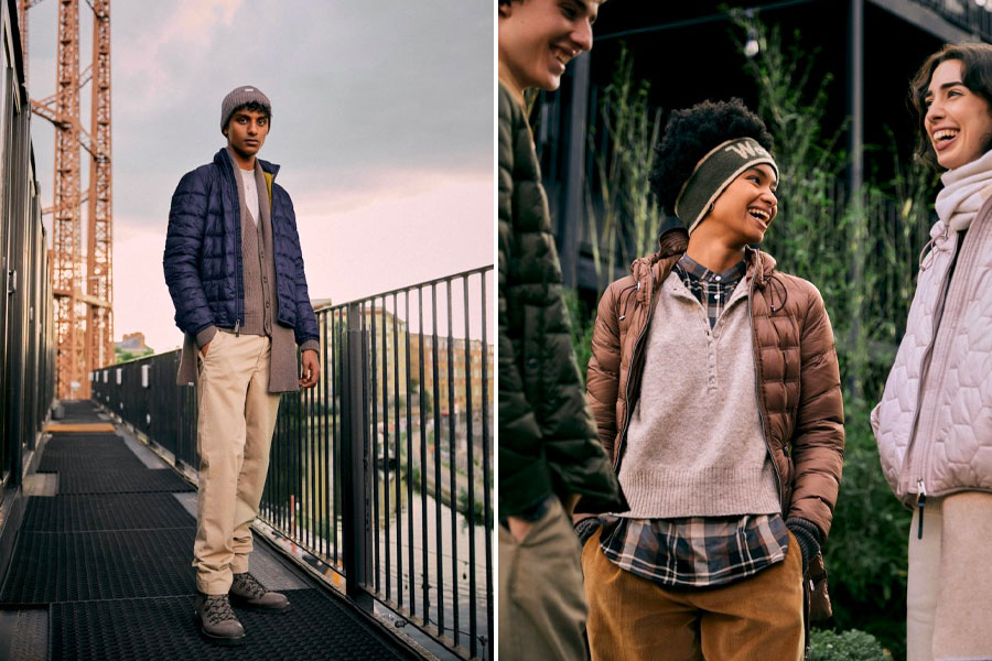 """Capsule Woolrich """"Shiny Recycled"""" Automne/Hiver 2021"""